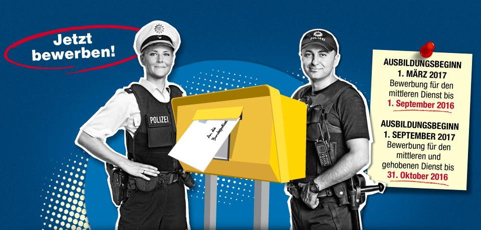 einstellungsjahr 2017 jetzt bewerben - Bundespolizei Bewerben