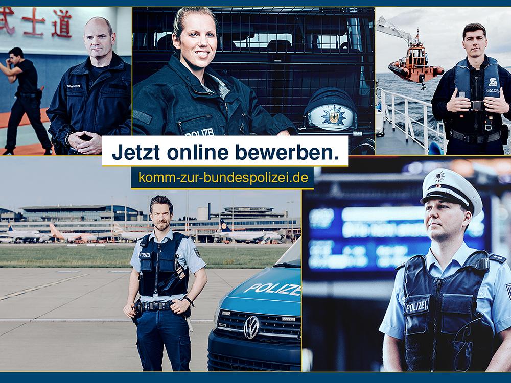 bewerbung bei der bundespolizei jetzt auch online - Bewerbung Polizei Rlp