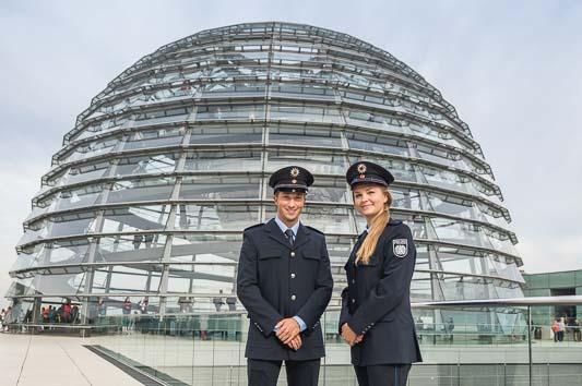 Bundestag Polizei