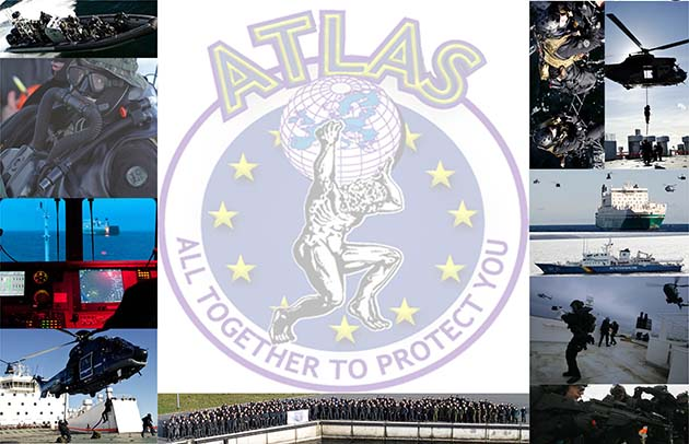 Collage zu ATLAS